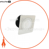 I082612 Intelite светодиодные светильники intelite led светильник точечный встраиваемый downlight  grand 9w 6000k sq