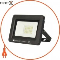 Прожектор SMD LED 30W 6400K 2400Lm 175-250V IP65 черный