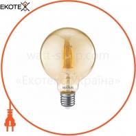 Лампа светодиоднаяG95 FM 7W 2700K 220V E27 Golden