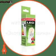 led лампа g9 3w 4000k eurolamp светодиодные лампы eurolamp Eurolamp LED-G9-0340(220)