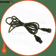 Коннектор для гирлянд с одним выходом 3м. IP44