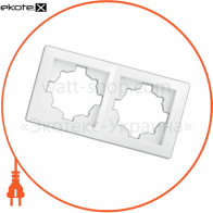 рамка WEGA 9302 2-секційна крем
