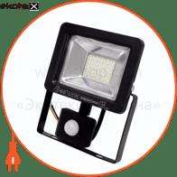 Прожектор з датчиком руху IP65 SMD LED 20W 6400K 1000lm 220-240v