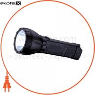 Ліхтар акумуляторний POWER LED 1W 100Lm батарея 900mAh 220-240V