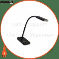 світильник світлодіодний настільний DELUX TF-230 3 Вт LED чорний
