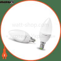 """Светодиодная EUROLAMP LED Лампа """"Свеча"""" ЕКО  4W E14 3000K"""