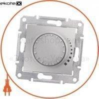 Sedna Светорегулятор поворотный, без рамки 325VA алюминиевый