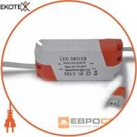 Драйвер для даунлайта 20-24w DC60-84V 280mA оранж. вилка