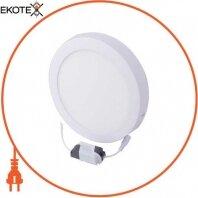 Світильник светодиодний накладної e.LED.MP.Round.S.18.4500. коло, 18Вт, 4500К, 1260Лм