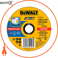 Круг отрезной DeWALT DT43906