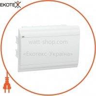 Бокс ЩРВ-П-12 модулей встраиваемый пластик IP41 PRIME белая дверь IEK