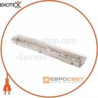 Світильник промисловий ЕВРОСВЕТ 2*600мм під лампу Т8 LED-SH-2*10 IP65 Slim