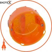 Коробка универсальная Legrand диаметр 80 мм глубина 50 мм Желтая (80188)