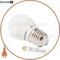 Лампа светодиодная евросвет 5 Вт 4200К Р-5-4200-27 E27