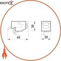 Enext i0070004 независимый расцепитель e.industrial.ukm.60.fl.220, 220в