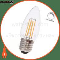 Светодиодная лампа Feron LB-68 4W E27 2700K диммируемая 25752