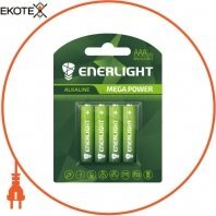 Батарейка ENERLIGHT MEGA POWER AAA BLI 4