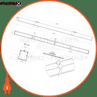 светильники серии стрела сво встраиваемые в потолок светодиодные светильники ledeffect Ledeffect LE-СВО-23-080-1453-20Х