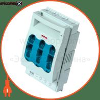 Выключатель-разъединитель под предохранитель e.fuse.VR.160, габарит 00, 3 полюса, 160А