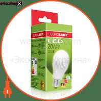 eurolamp led лампа еко a65 20w e27 3000k светодиодные лампы eurolamp Eurolamp LED-A65-20272(D)
