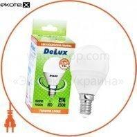 лампа светодиодная DELUX BL50P 7 Вт 4100K 220В E14 белый