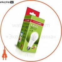 классическая светодиодная eurolamp led лампа еко а75 20w e27 3000k