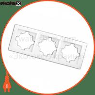 рамка WEGA 9303 3-секційна крем