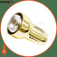 Светильник Feron RAD50 S золото с выключателем 14804