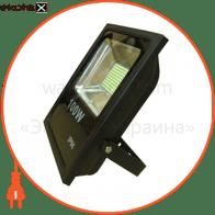 led прожектор 100w 5000к чёрний светодиодные светильники optima Optima 8725