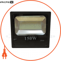 LED Прожектор 150W 5000К чёрний