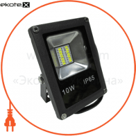 Прожектор LED_Alfa_SMD_10W_4000К_чорний (08768)