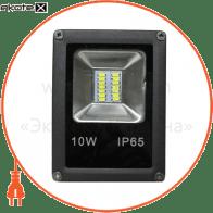 led прожектор 10w 4000к чёрный светодиодные светильники optima Optima 8768