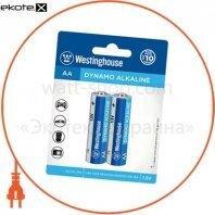 Щелочная батарейка Westinghouse Dynamo Alkaline AA/LR6 2шт/уп blister