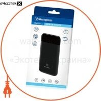 Westinghouse WP13-100CB мобильный (литий-полимер) аккумулятор 10 000mah 3.7v c 2 портами  усиленной зарядки до 3a через порты mikro usb и type-c