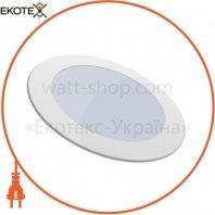 Светильник встроеный Sokol LED-PANEL 6w aluminium 480Lm IP20