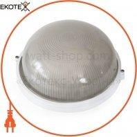 Светильник банник Sokol LED-WPR 5w aluminium 500Lm 6500K IP44 круг