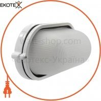 Светильник банник Sokol LED-WPE 5w aluminium 500Lm 6500K IP44 овал
