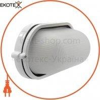 Світильник банник Sokol LED-WPE 10w aluminium 1000Lm 6500K IP44 овал