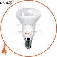 Светодиодная LED лампа R39 AL 4w 220В E14 3000К Sokol