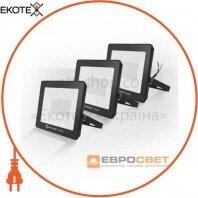 Набор из 3х прожекторов светодиодных ЕВРОСВЕТ 50Вт 6400К EV-50-504 STAND 4000Лм