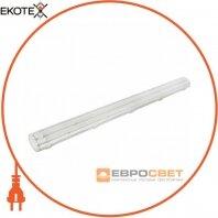 Светильник промышленный ЕВРОСВЕТ 2*1200 LED-SH-40-1 IP65 одностороннее подкл.