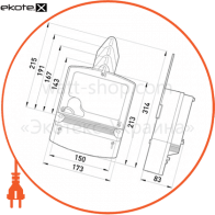 трехфазный счетчик с жк экраном нік 2303 ап2 1140 прямого включения 5(60)а