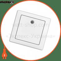 вимикач WEGA 9121 1-клавішний з підсвічуванням крем