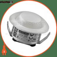 Світильник врізний круг,корпус метал d-43mm ip 20 COB LED 3W 4200K 210Lm, колір - білий (85-265v)