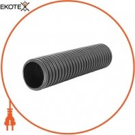 Труба гофрированная двустенная черная e.kor.tube.black.160.136, 160/136мм (50м)