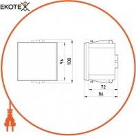 Enext i0640006 реле пробоя тока на землю e.relay.ker.141