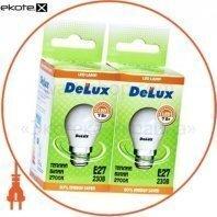 Светодиод.лампа_DELUX_BL50P 7 Вт_2700К 220В E27 (промо)