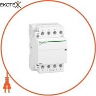 Модульный контактор iCT63A 4НО 220/240В АС 50ГЦ