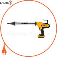 Пистолет для герметиков аккумуляторный DeWALT DCE580D1