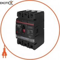 Силовой автоматический выключатель e.industrial.ukm.250Re.250 с электронным расцепителем, 3р, 250А